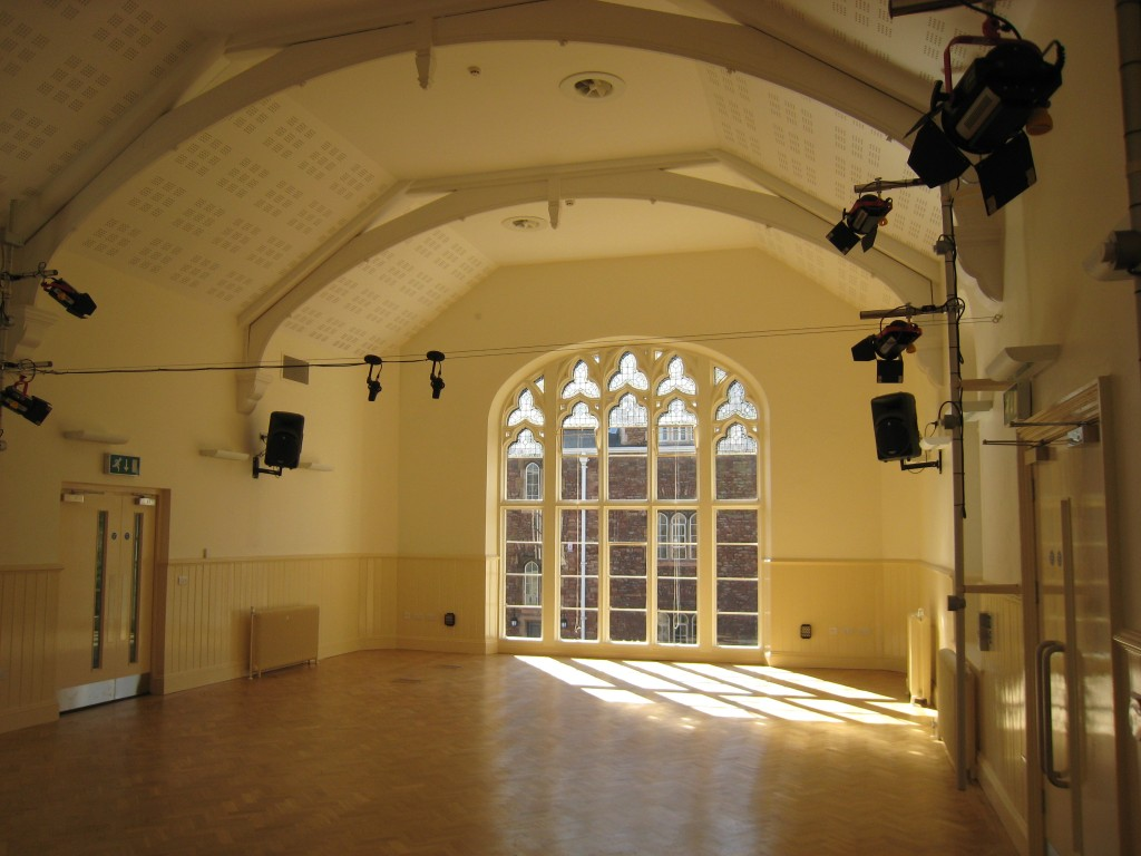 Clifton College Music School Recital Hall
