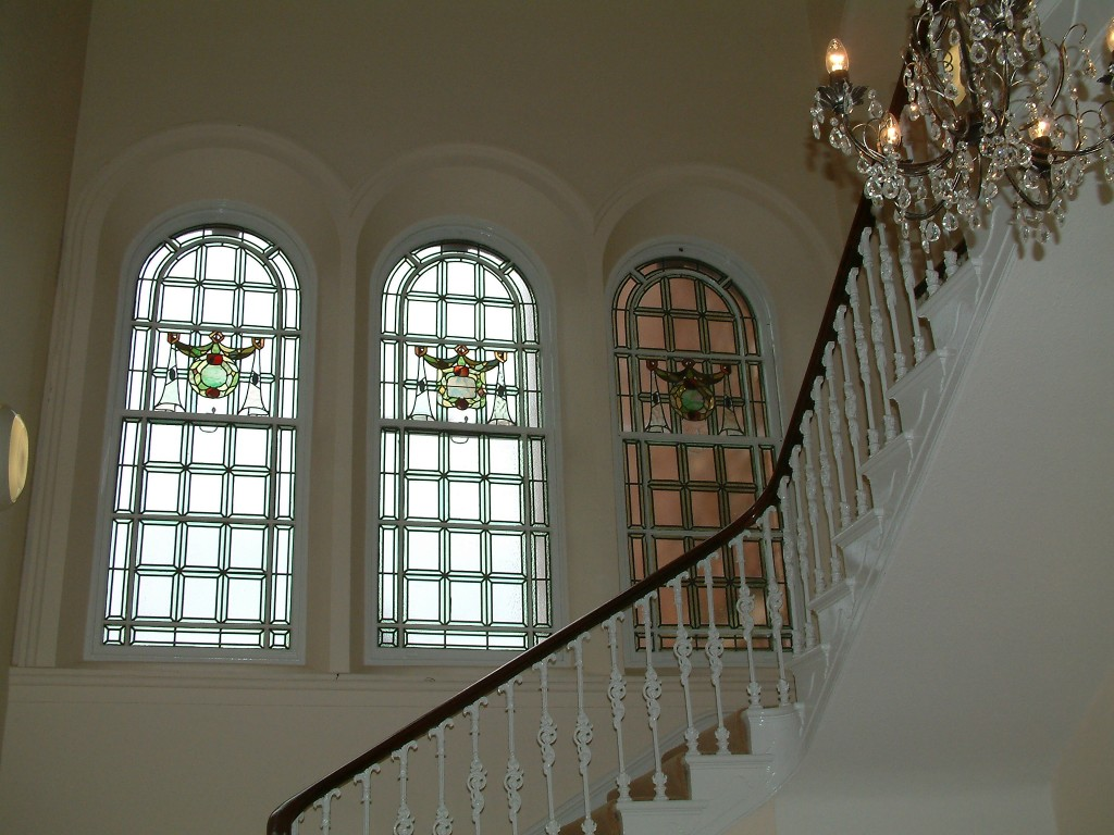 Clifton College Wisemans Boarding House Main Staircase